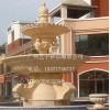 人造砂岩雕塑流水盆庭院多层雕花流水钵园林景观装饰流水盆