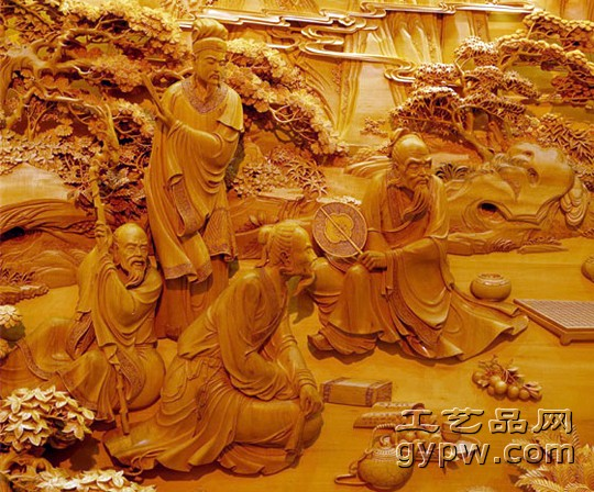 贵州木雕艺人刘廷武