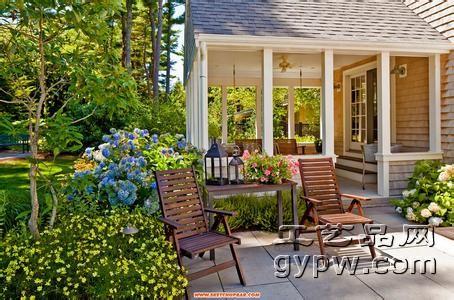 庭院设计与工艺品摆件摆放