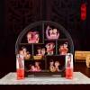 阿二 中式婚庆装饰用品婚房布置创意 娃娃公仔摆件树脂工艺礼品