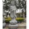 石雕南海观音 四面石制观自在菩萨雕塑 坐莲观音像