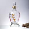 高硼硅玻璃白酒瓶定制异形手工艺耐高温空酒瓶定制